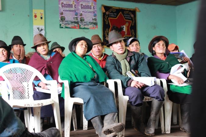 Comunidad Salinas de guaranda