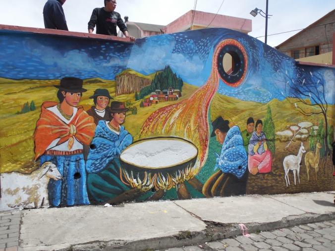 murales festival del queso Salinas